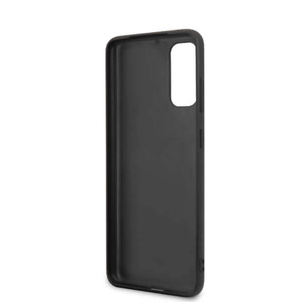 BMW Signature Genuine Leather Soft Case — кожен кейс (естествена кожа) за Samsung Galaxy S20 (черен) - 5