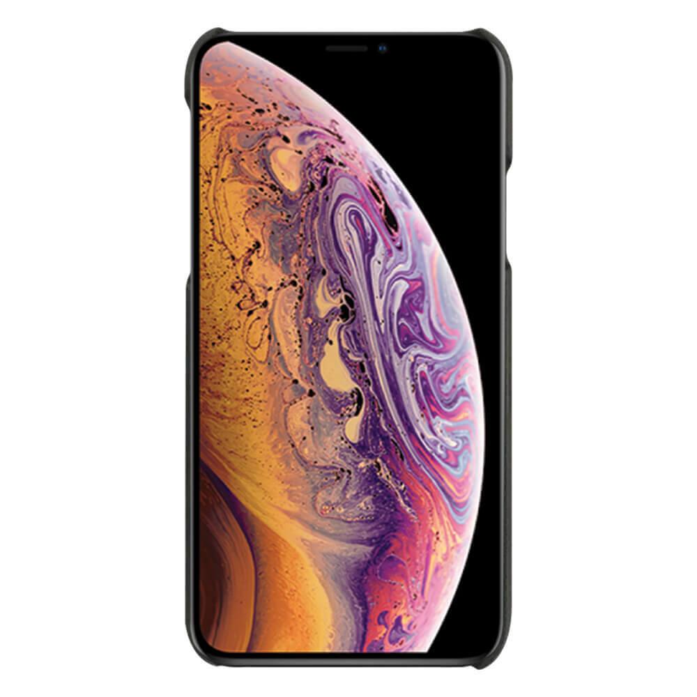 Case FortyFour No.3 Case — поликарбонатов кейс за iPhone XS Max (черен) - 2