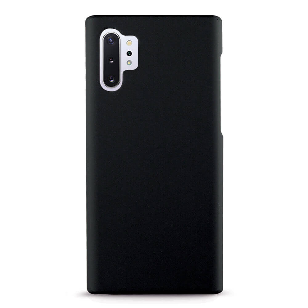Case FortyFour No.3 Case — поликарбонатов кейс за Samsung Galaxy Note 10 Plus (черен) - 1