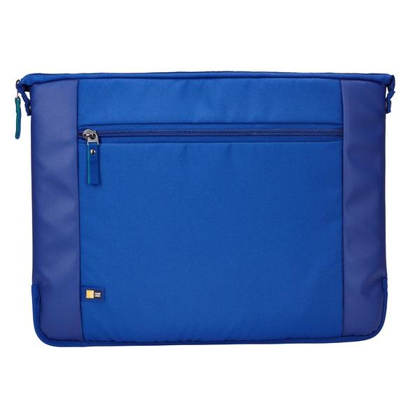 Case Logic Intrata 15.6 Laptop Bag — елегантна чанта за MacBook Pro 15 и лаптопи до 15 инча (син) - 2