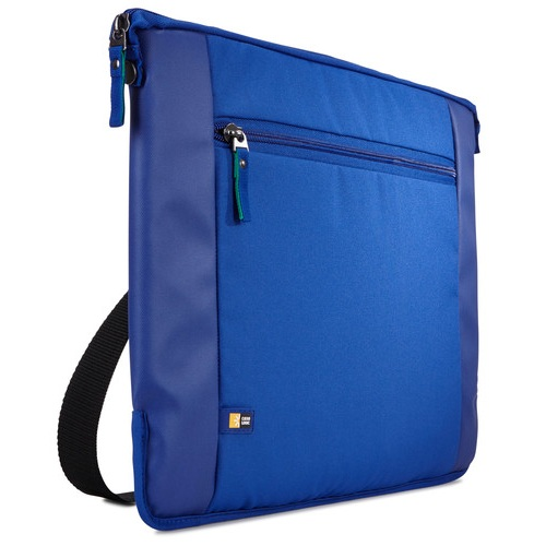 Case Logic Intrata 15.6 Laptop Bag — елегантна чанта за MacBook Pro 15 и лаптопи до 15 инча (син) - 1