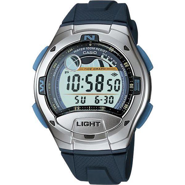 Casio W753/2AV Watch — спортен унисекс часовник (син)  - 1