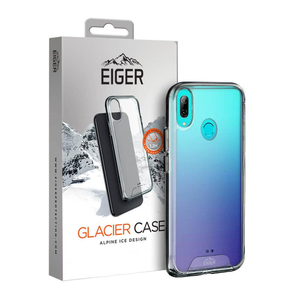 Eiger Glacier Case — удароустойчив хибриден кейс за Huawei P Smart (2019), P Smart+ 2019 (прозрачен) - 1