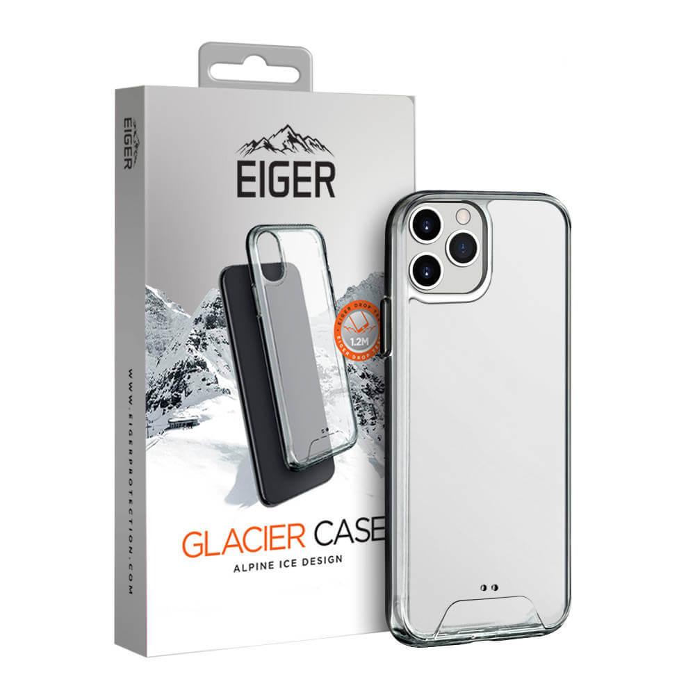 Eiger Glacier Case — удароустойчив хибриден кейс за iPhone 11 Pro (прозрачен) - 1