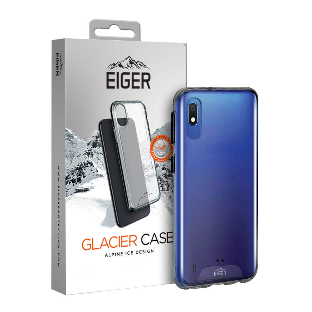 Eiger Glacier Case — удароустойчив хибриден кейс за Samsung Galaxy A10 (прозрачен) - 1