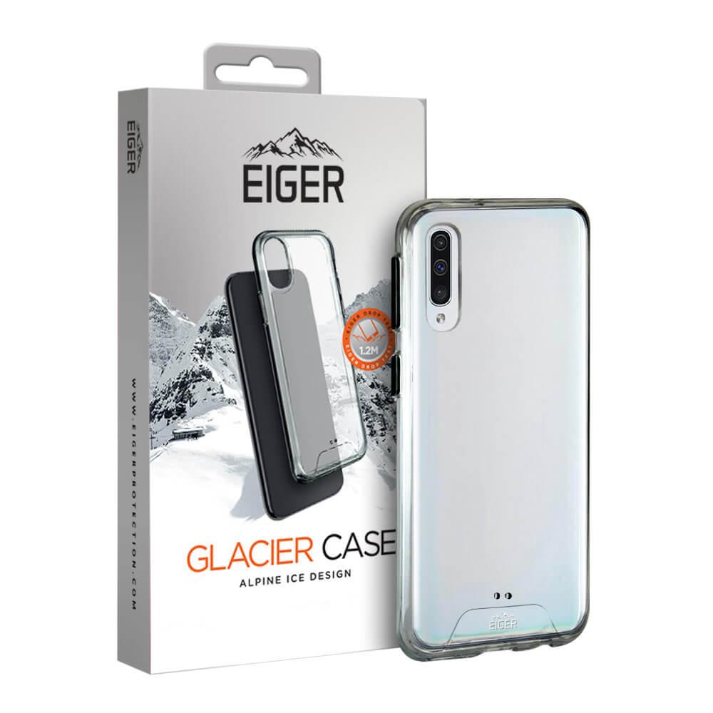 Eiger Glacier Case — удароустойчив хибриден кейс за Samsung Galaxy A50 (прозрачен) - 1