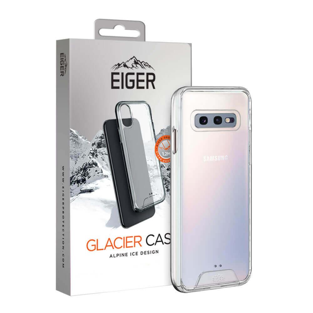 Eiger Glacier Case — удароустойчив хибриден кейс за Samsung Galaxy S10E (прозрачен) - 1