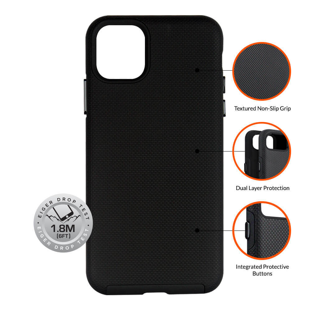 Eiger North Case — хибриден удароустойчив кейс за iPhone 11 - 4