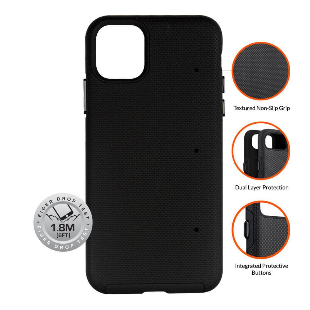 Eiger North Case — хибриден удароустойчив кейс за iPhone 11 Pro - 4
