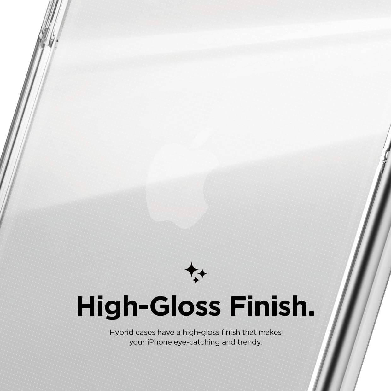 Elago Hybrid Case — хибриден удароустойчив кейс за iPhone 11 Pro (прозрачен) - 5