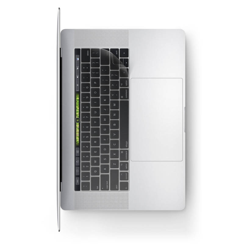 Elago Keyboard Skin — силиконов протектор за клавиатурата на MacBook Pro with Touch Bar (прозрачен-мат) - 1