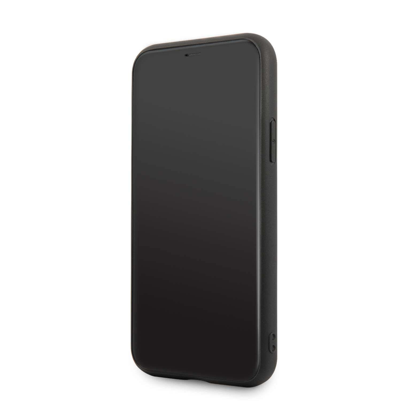 Ferrari Heritage Quilted Leather Hard Case — кожен кейс (естествена кожа) за iPhone 11 Pro Max (черен) - 2