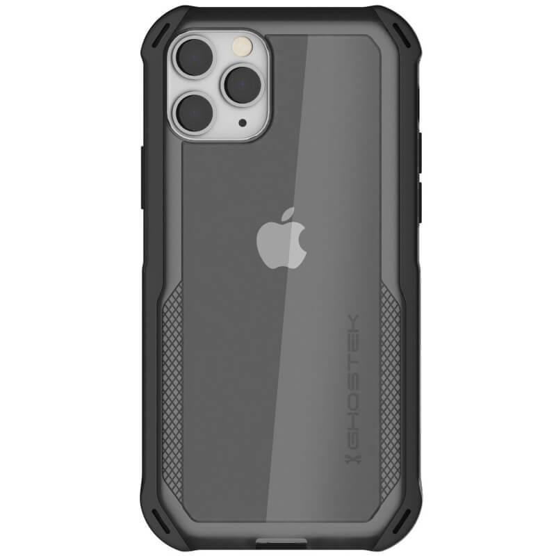 Ghostek Cloak 4 Case  — хибриден удароустойчив кейс за iPhone 11 Pro (прозрачен-черен) - 2