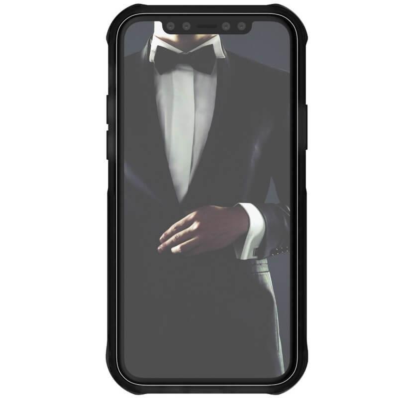 Ghostek Cloak 4 Case  — хибриден удароустойчив кейс за iPhone 11 Pro (прозрачен-черен) - 3