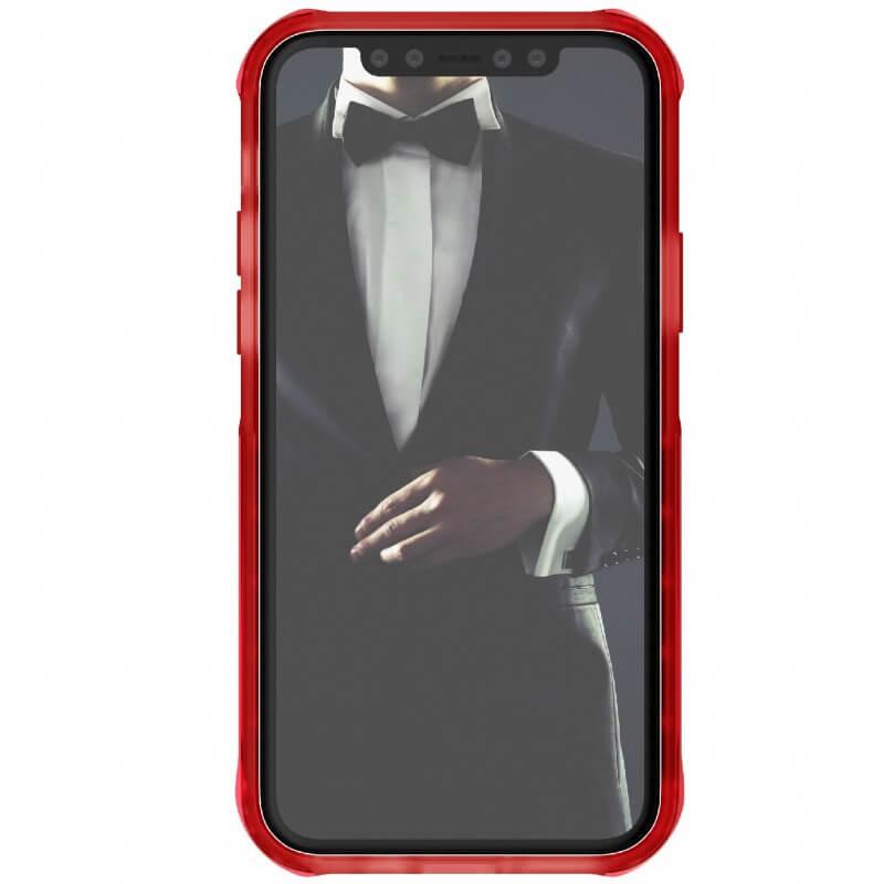 Ghostek Cloak 4 Case  — хибриден удароустойчив кейс за iPhone 11 Pro (прозрачен-червен) - 2