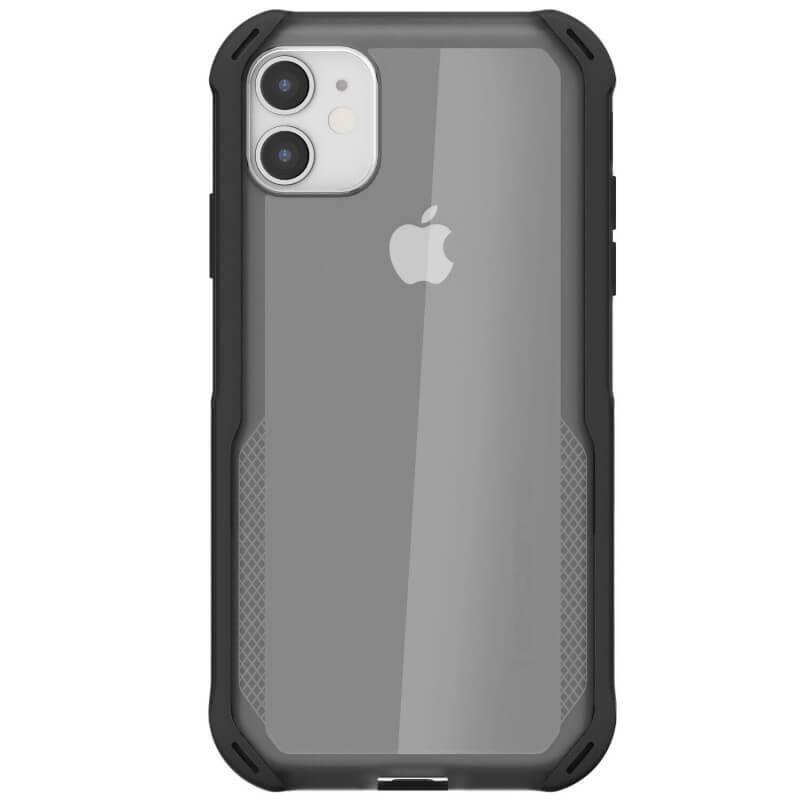 Ghostek Cloak 4 Case  — хибриден удароустойчив кейс за iPhone 11 (прозрачен-черен) - 2