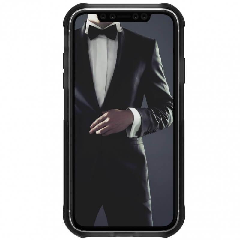Ghostek Cloak 4 Case  — хибриден удароустойчив кейс за iPhone 11 (прозрачен-черен) - 3