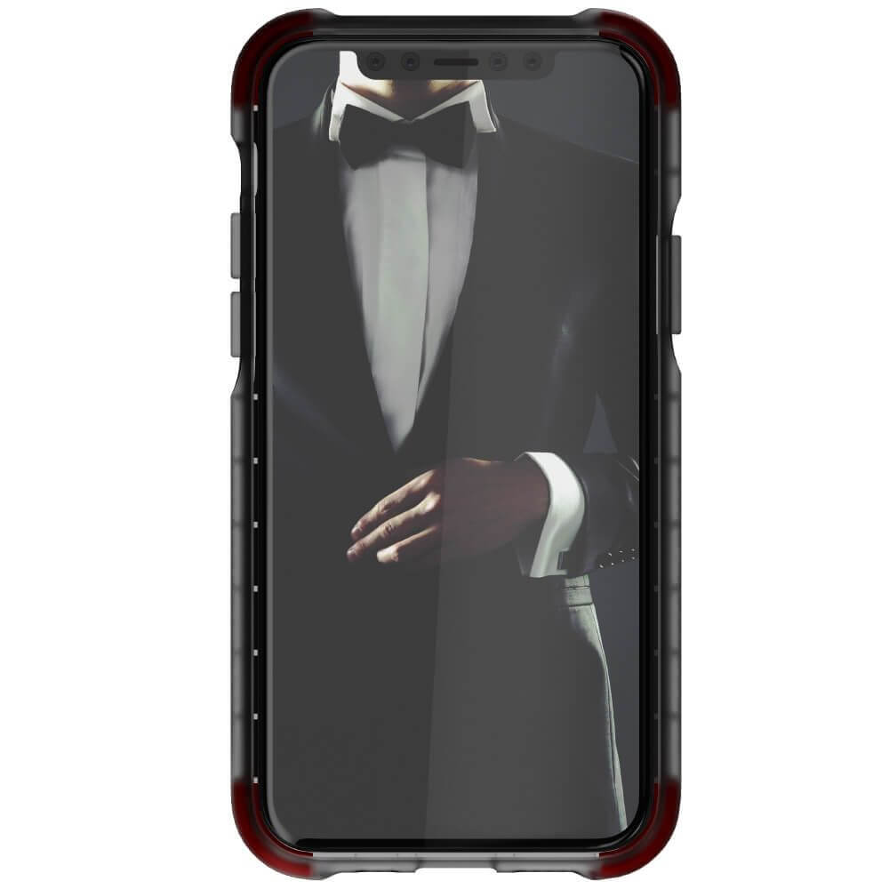 Ghostek Covert 3 Case — хибриден удароустойчив кейс за iPhone 11 Pro (черен-прозрачен) - 2