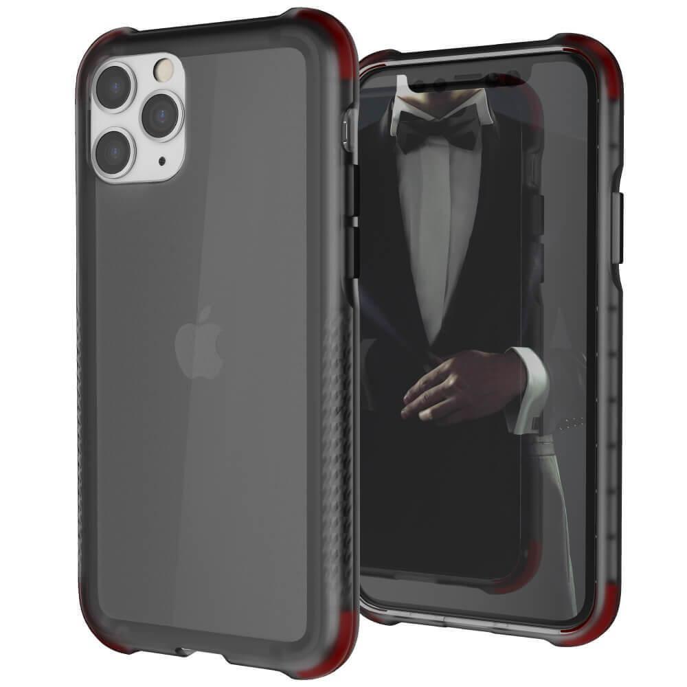 Ghostek Covert 3 Case — хибриден удароустойчив кейс за iPhone 11 Pro (черен-прозрачен) - 1
