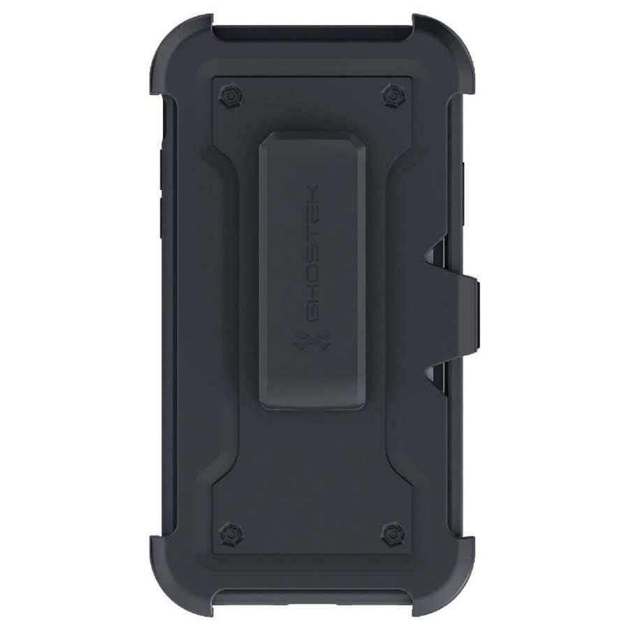 Ghostek Iron Armor 3 — удароустойчив хибриден кейс с щипка и слот за карти за iPhone 11 (черен) - 5