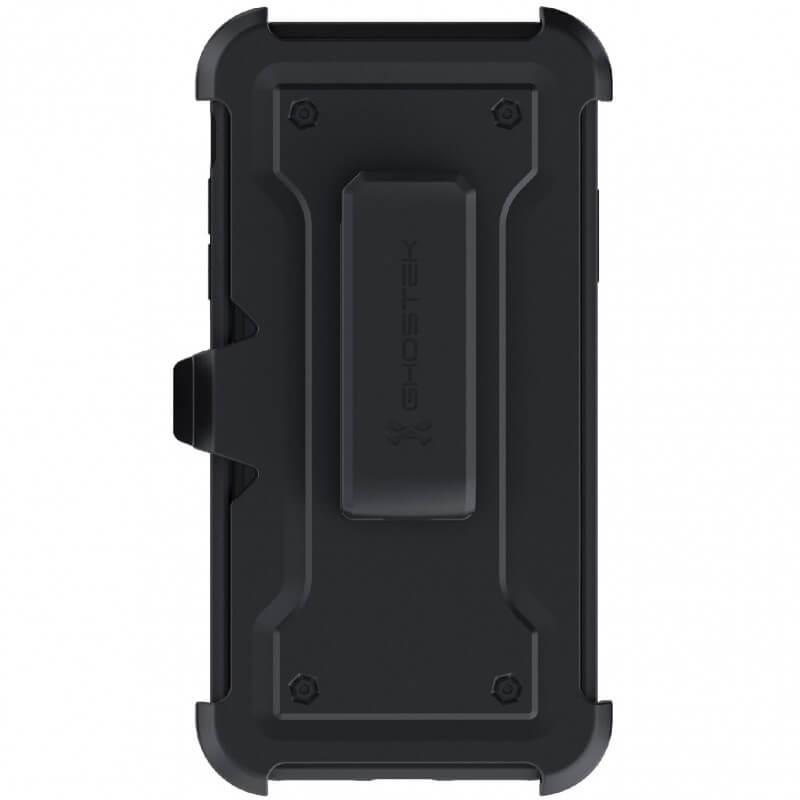 Ghostek Iron Armor 3 — удароустойчив хибриден кейс с щипка и слот за карти за iPhone 11 Pro Max (черен) - 2