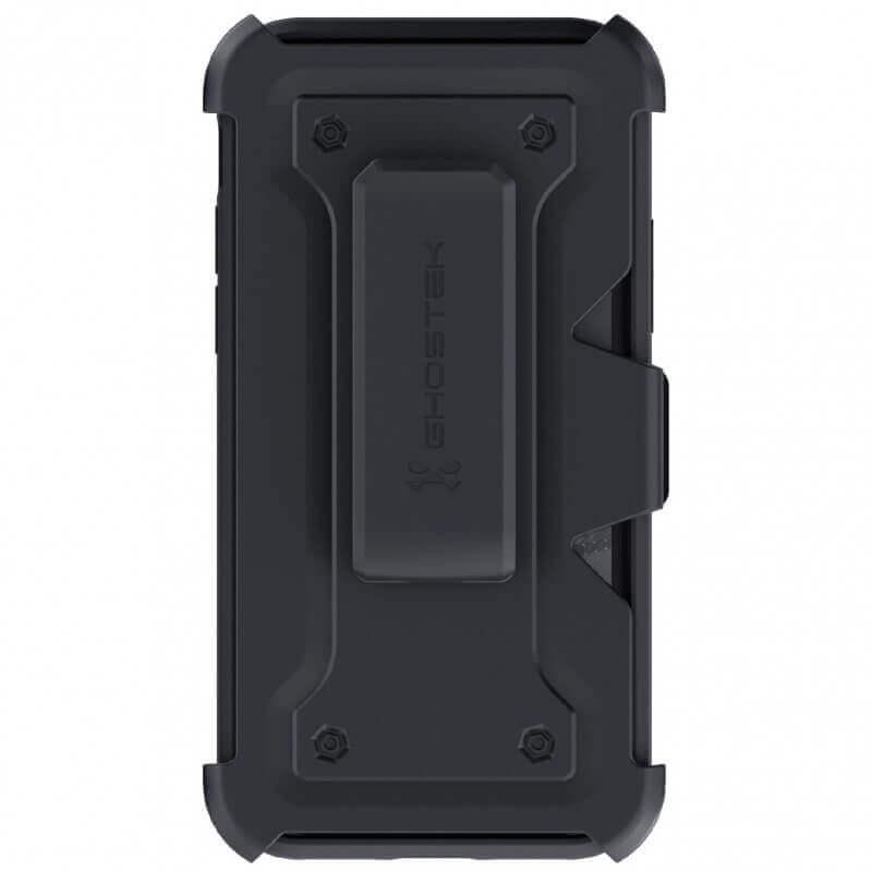 Ghostek Iron Armor 3 — удароустойчив хибриден кейс с щипка и слот за карти за iPhone 11 Pro Max (син) - 3