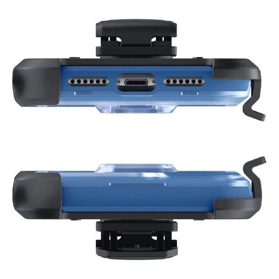 Ghostek Iron Armor 3 — удароустойчив хибриден кейс с щипка и слот за карти за iPhone 11 (син) - 5