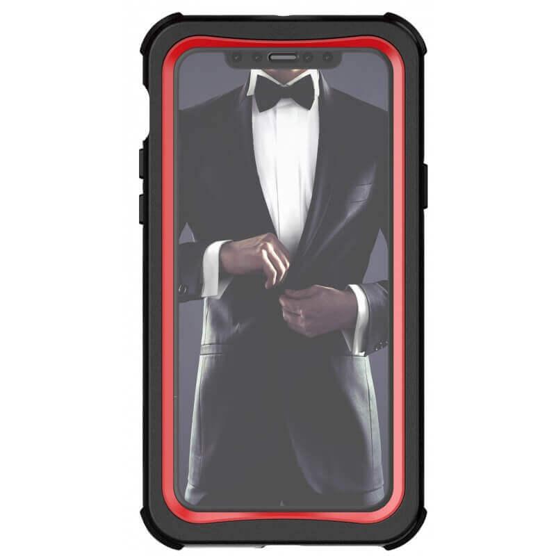 Ghostek Nautical 2 Case — ударо и водоустойчив кейс за iPhone 11 Pro (червен) - 3