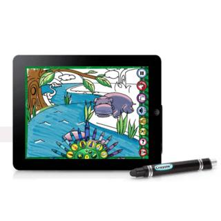 Griffin Crayola ColorStudio HD — стилус с приложение за рисуване за iPad - 1