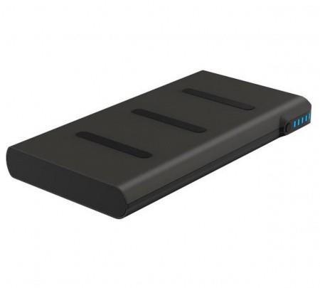 Griffin Reserve Wireless Charging Power Bank 5000 mAh — външна батерия с USB изход и безжично зареждане за мобилни устройства (черен) - 1