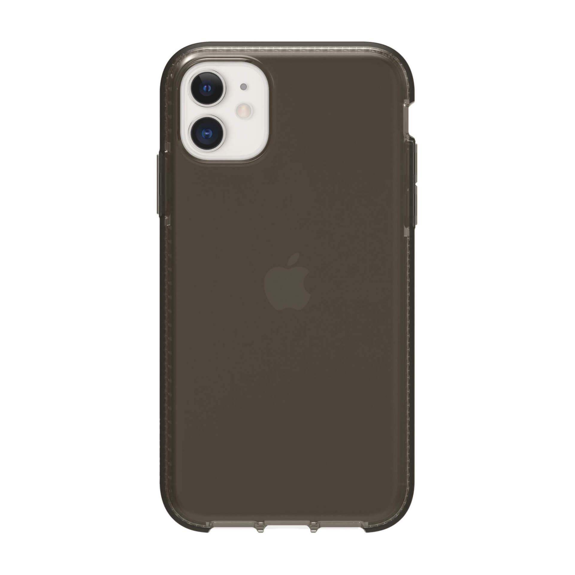 Griffin Survivor Clear Case — хибриден удароустойчив кейс за iPhone 11 (черен) - 4