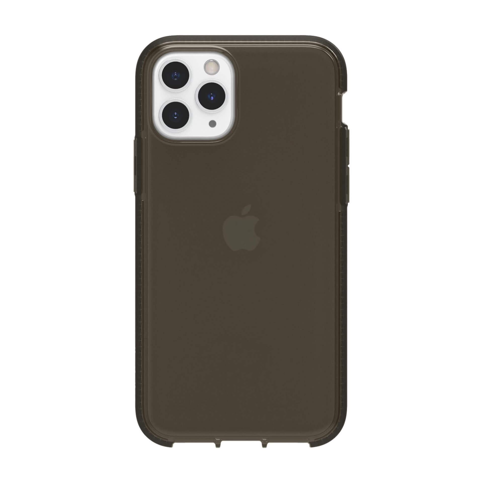 Griffin Survivor Clear Case — хибриден удароустойчив кейс за iPhone 11 Pro (черен) - 3