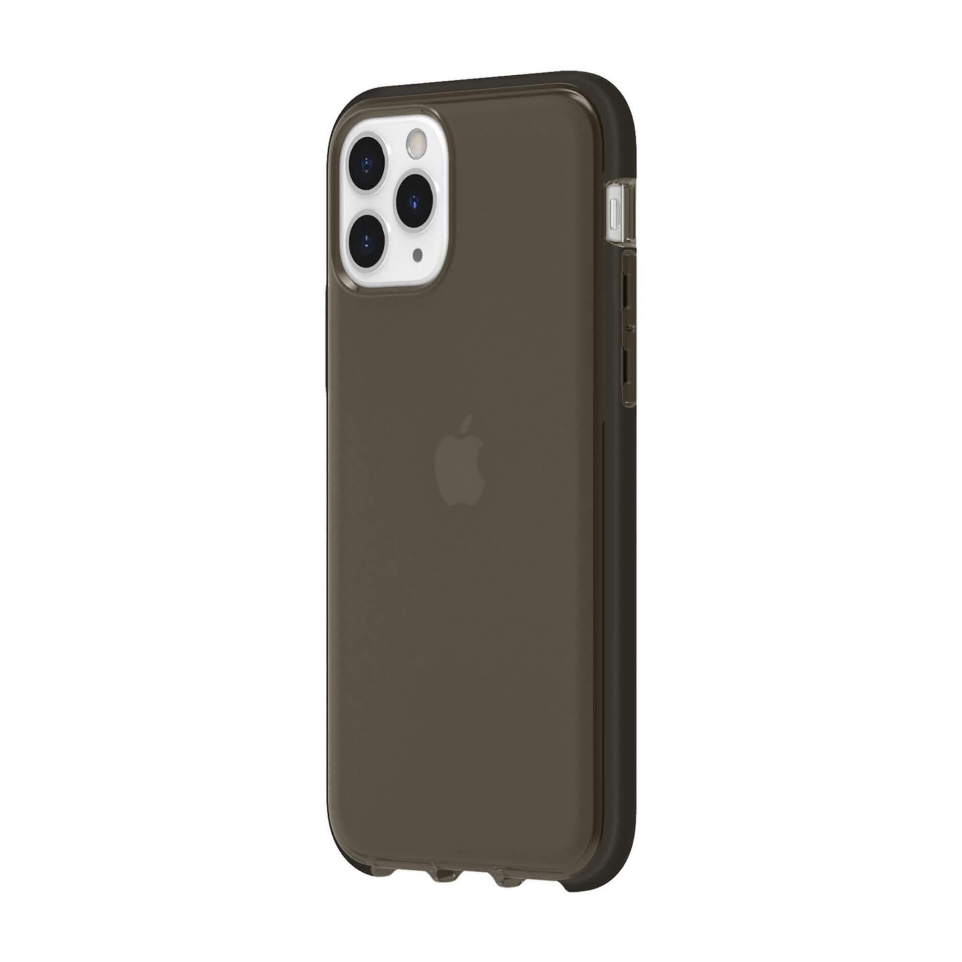 Griffin Survivor Clear Case — хибриден удароустойчив кейс за iPhone 11 Pro (черен) - 1