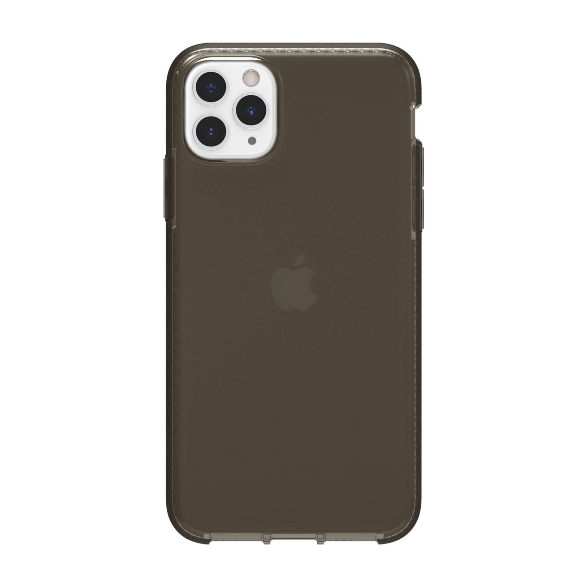 Griffin Survivor Clear Case — хибриден удароустойчив кейс за iPhone 11 Pro Max (черен) - 3