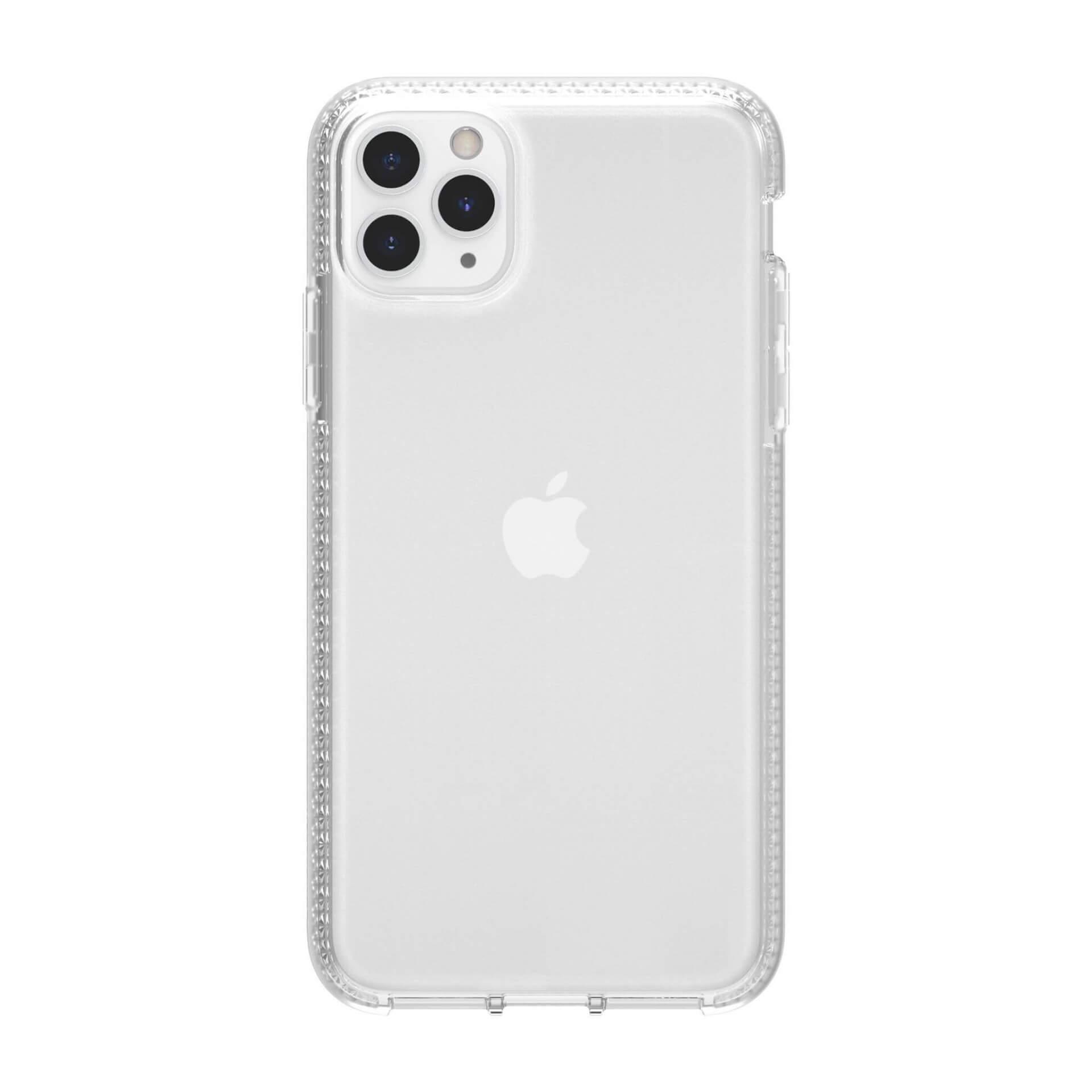 Griffin Survivor Clear Case — хибриден удароустойчив кейс за iPhone 11 Pro Max (прозрачен) - 1