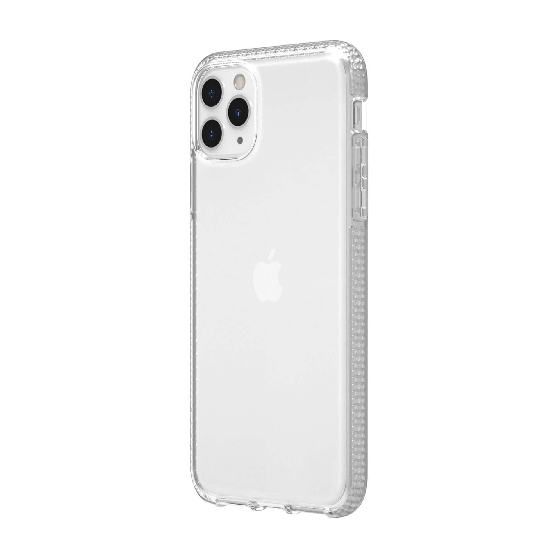 Griffin Survivor Clear Case — хибриден удароустойчив кейс за iPhone 11 Pro Max (прозрачен) - 4