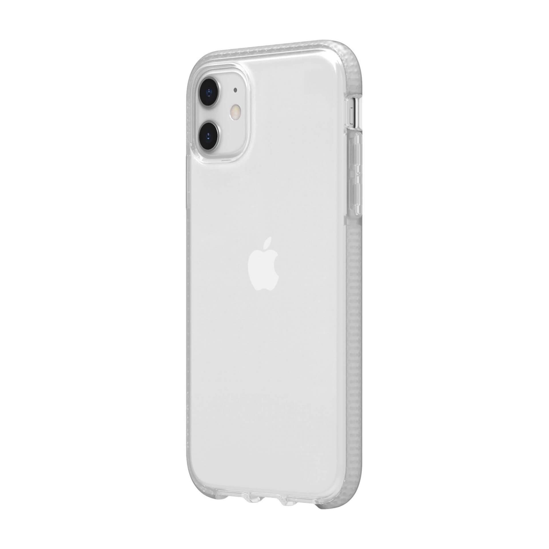 Griffin Survivor Clear Case — хибриден удароустойчив кейс за iPhone 11 (прозрачен) - 2