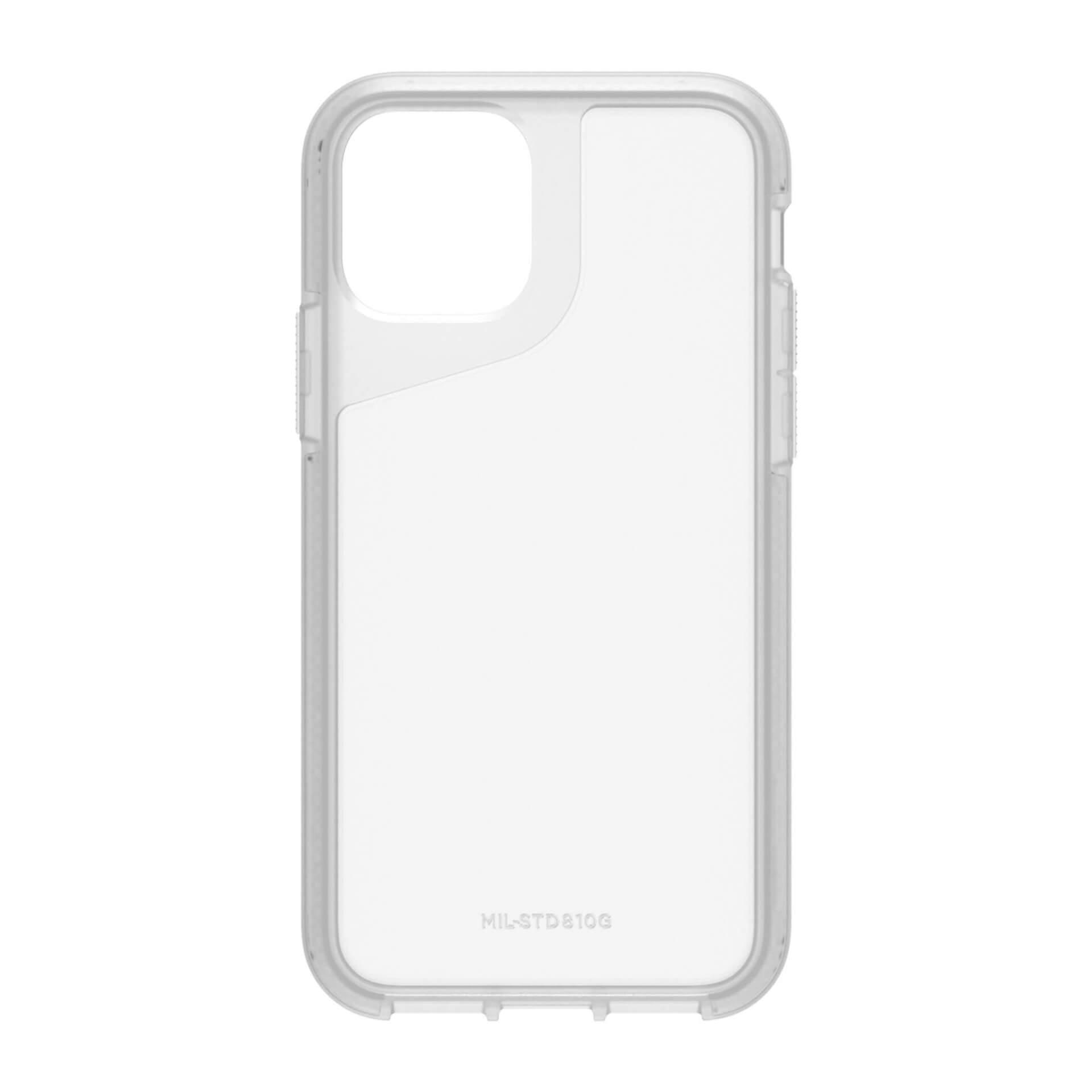Griffin Survivor Strong — хибриден удароустойчив кейс за iPhone 11 Pro (прозрачен) - 4