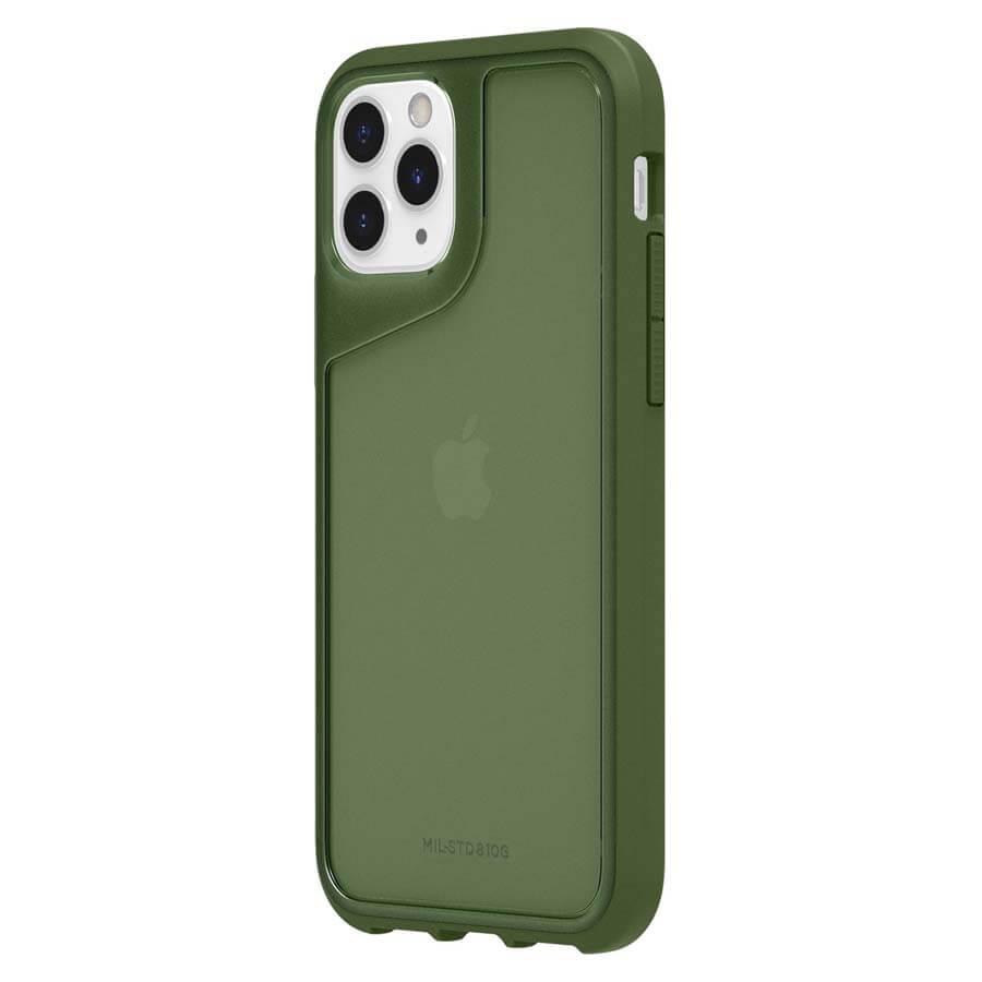 Griffin Survivor Strong — хибриден удароустойчив кейс за iPhone 11 Pro (зелен) - 2