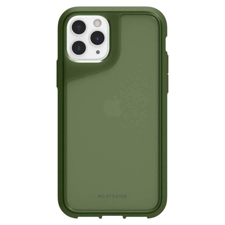 Griffin Survivor Strong — хибриден удароустойчив кейс за iPhone 11 Pro (зелен) - 4