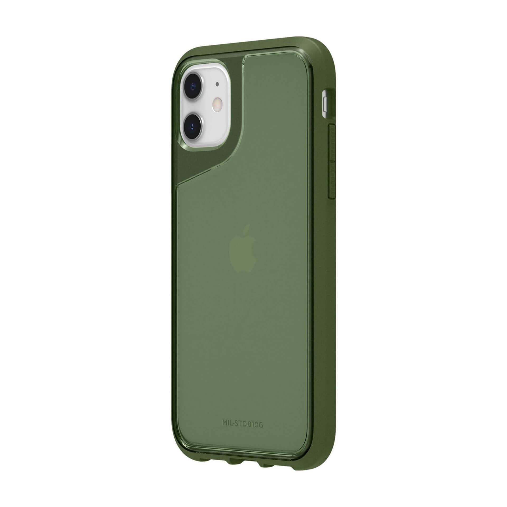 Griffin Survivor Strong — хибриден удароустойчив кейс за iPhone 11 (зелен) - 1