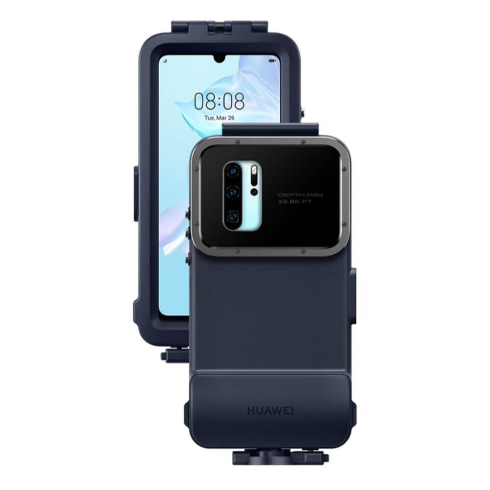 Huawei P30 Pro Snorkelling Case — оригинален водоустойчив кейс за Huawei P30 Pro (син) - 2