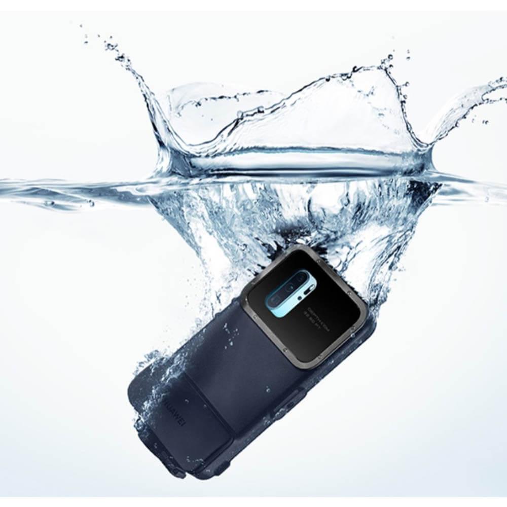 Huawei P30 Pro Snorkelling Case — оригинален водоустойчив кейс за Huawei P30 Pro (син) - 3