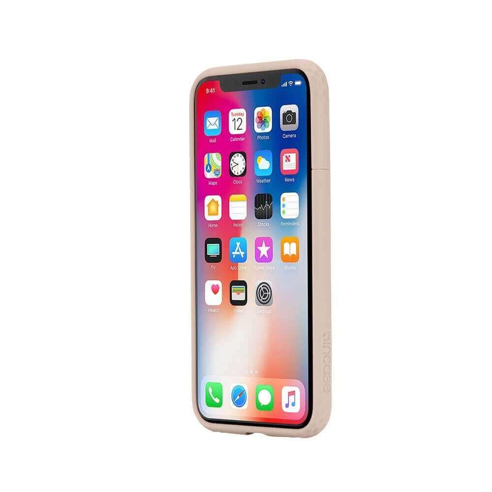 Incase Frame Case — удароустойчив хибриден кейс за iPhone XS, iPhone X (розов) - 4