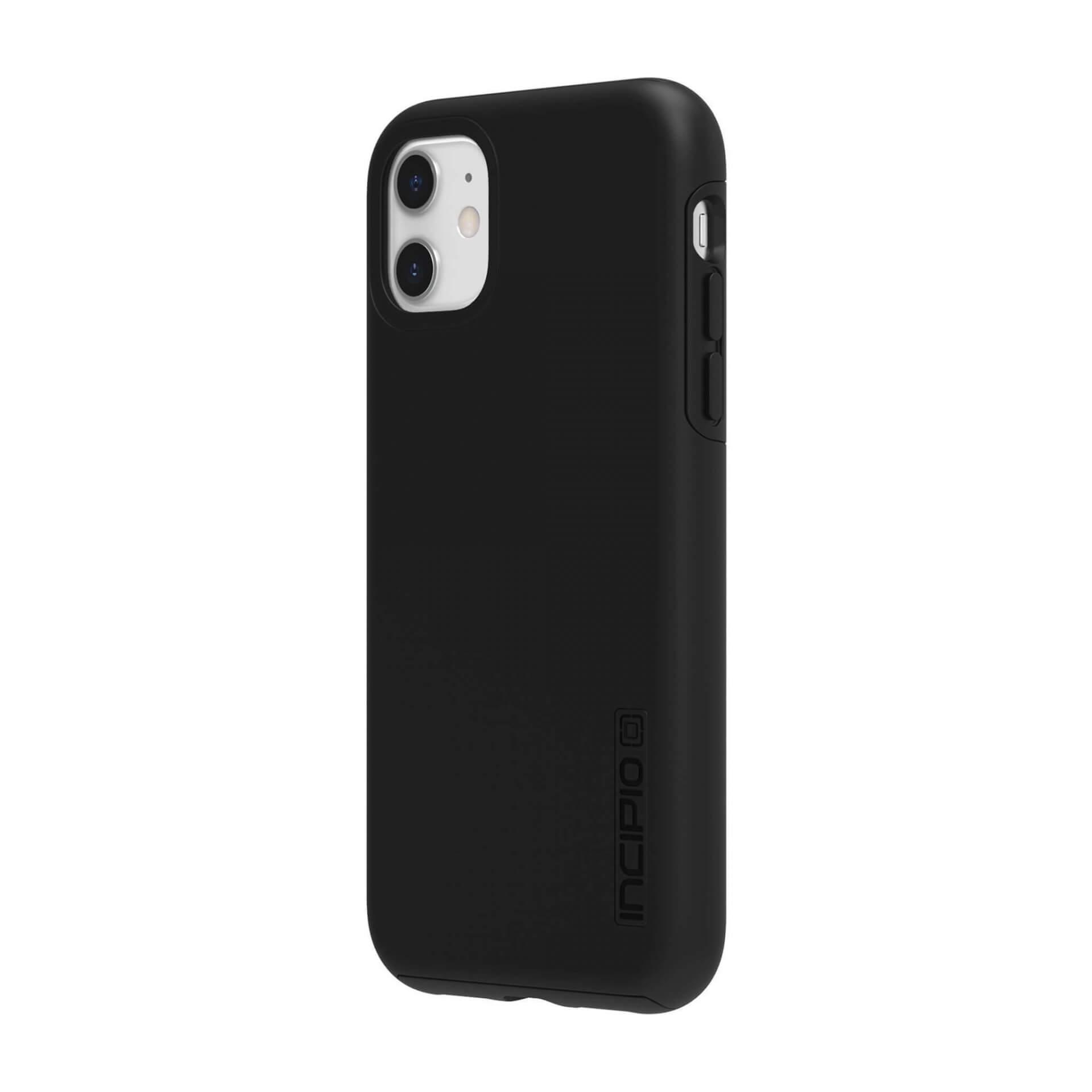 Incipio DualPro Case — удароустойчив хибриден кейс за iPhone 11 (черен) - 3