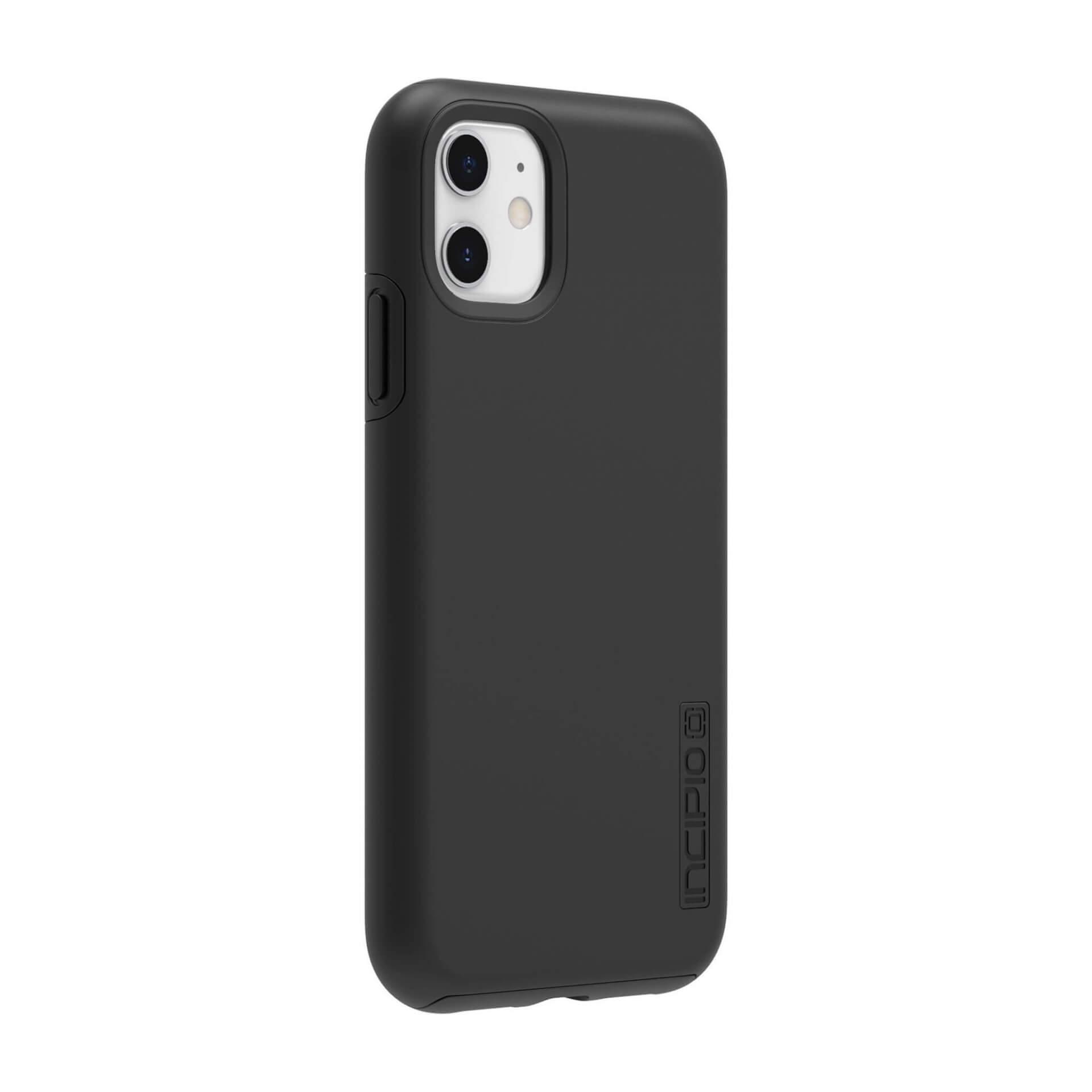 Incipio DualPro Case — удароустойчив хибриден кейс за iPhone 11 (черен) - 4