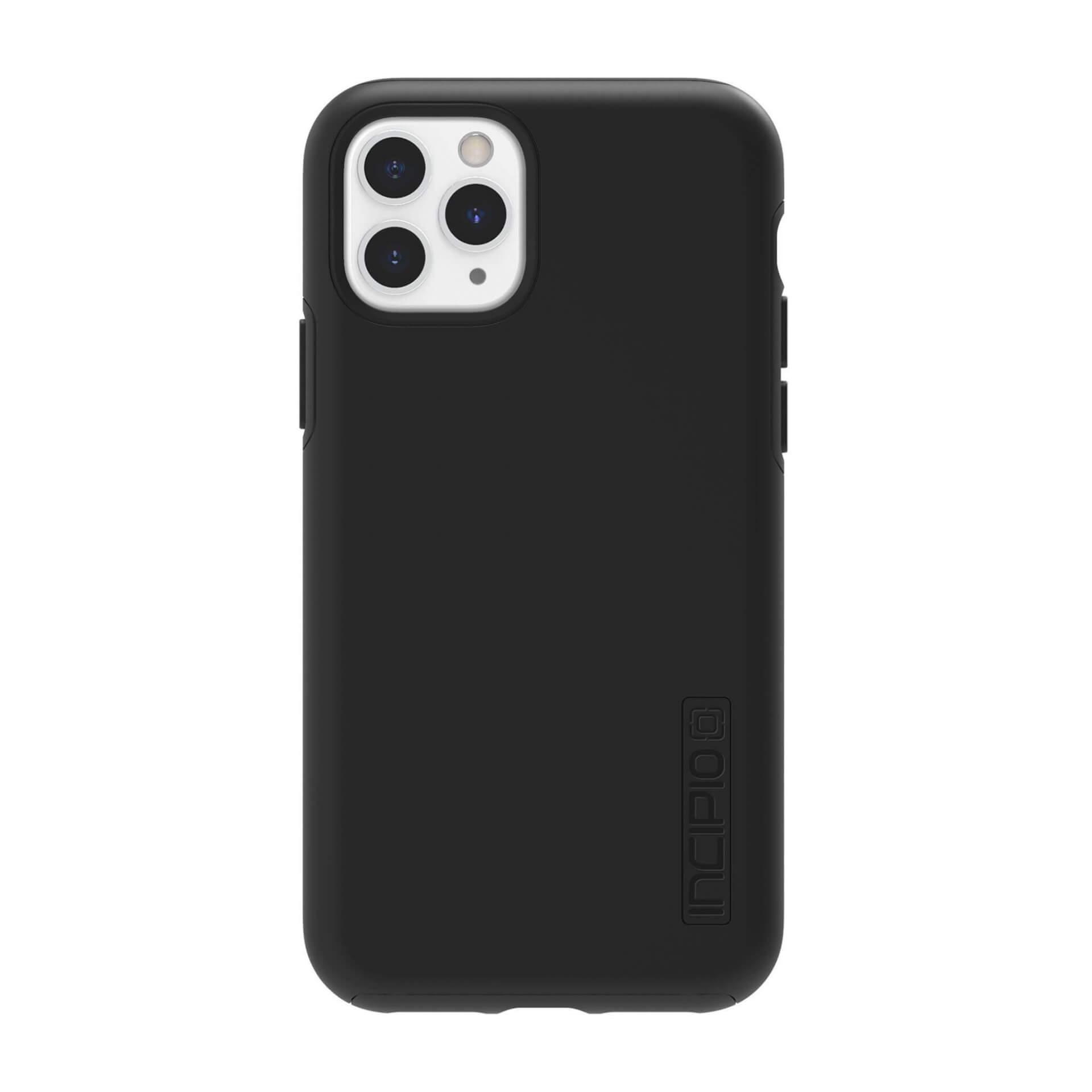 Incipio DualPro Case — удароустойчив хибриден кейс за iPhone 11 Pro (черен) - 4
