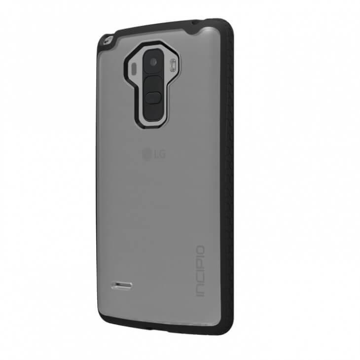 Incipio Octane Case — удароустойчив хибриден кейс за LG G Stylo (черен-прозрачен) - 3