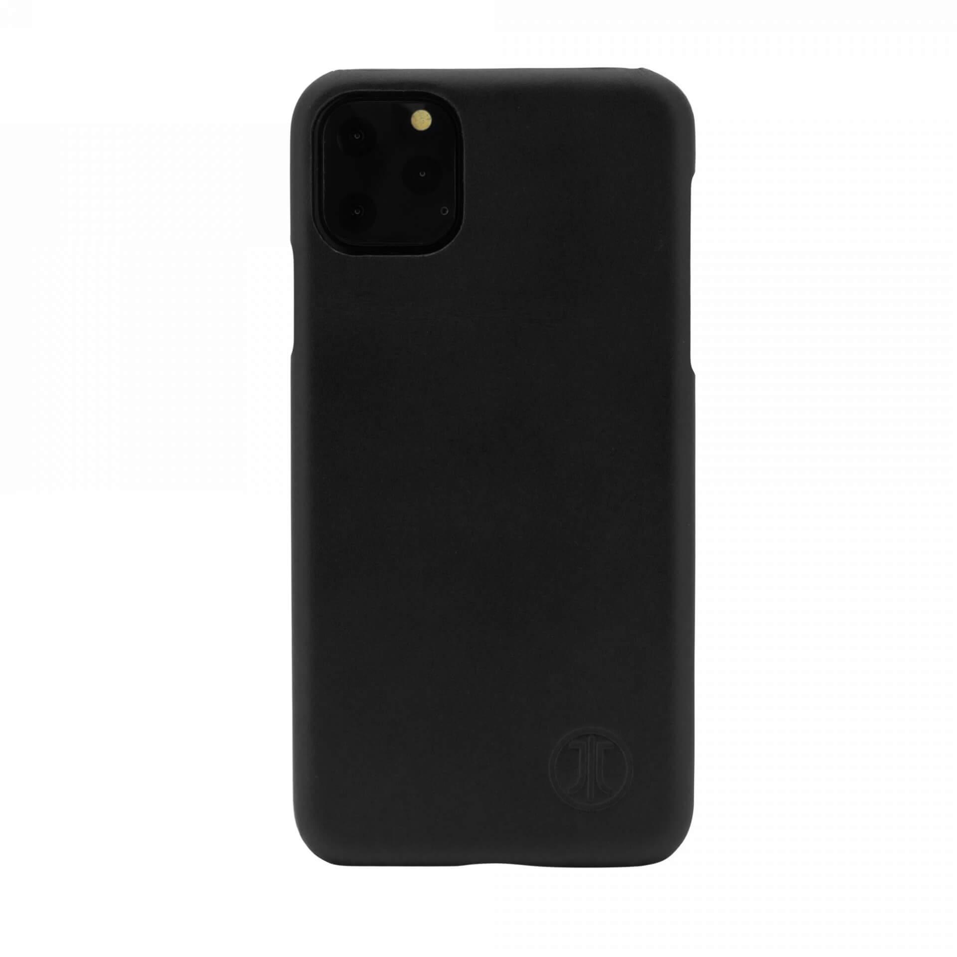 JT Berlin BackCase Kreuzberg — кожен кейс (естествена кожа) за iPhone 11 Pro (черен) - 1