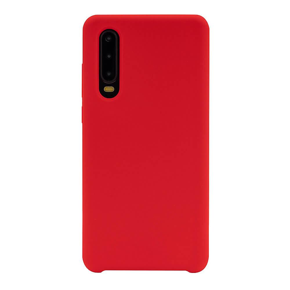 JT Berlin Silicone Case Steglitz — качествен силиконов кейс за Huawei P30 (червен) - 1